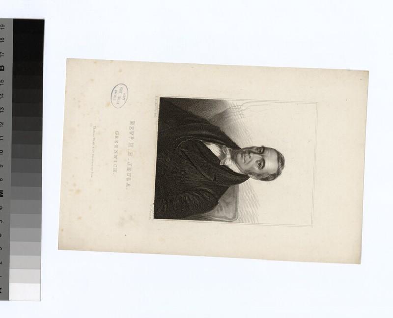 Portrait of H. B. Jeula