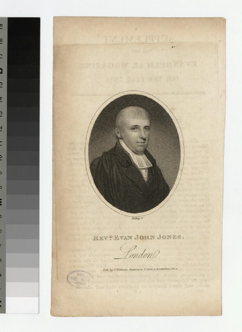 Portrait of E. J. Jones