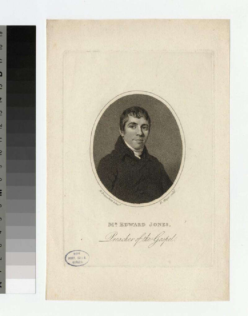 Portrait of E. Jones