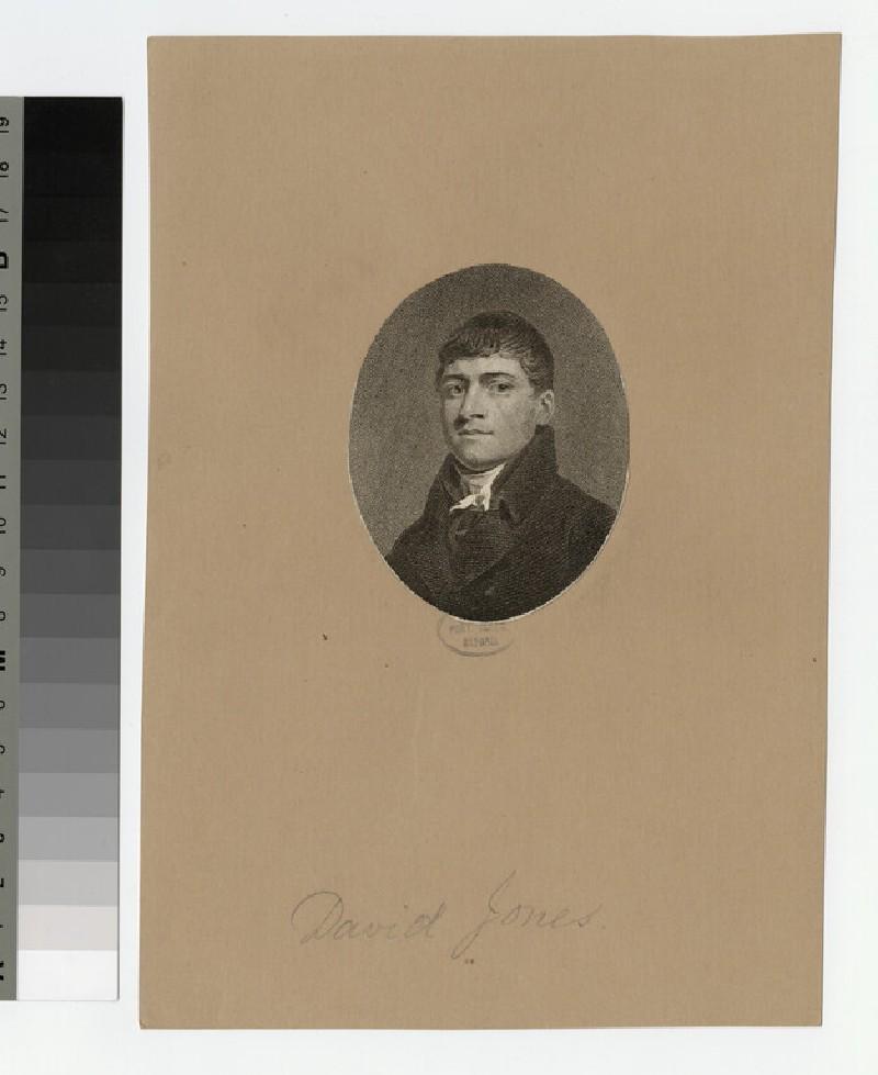 Portrait of D. Jones (WAHP23128)