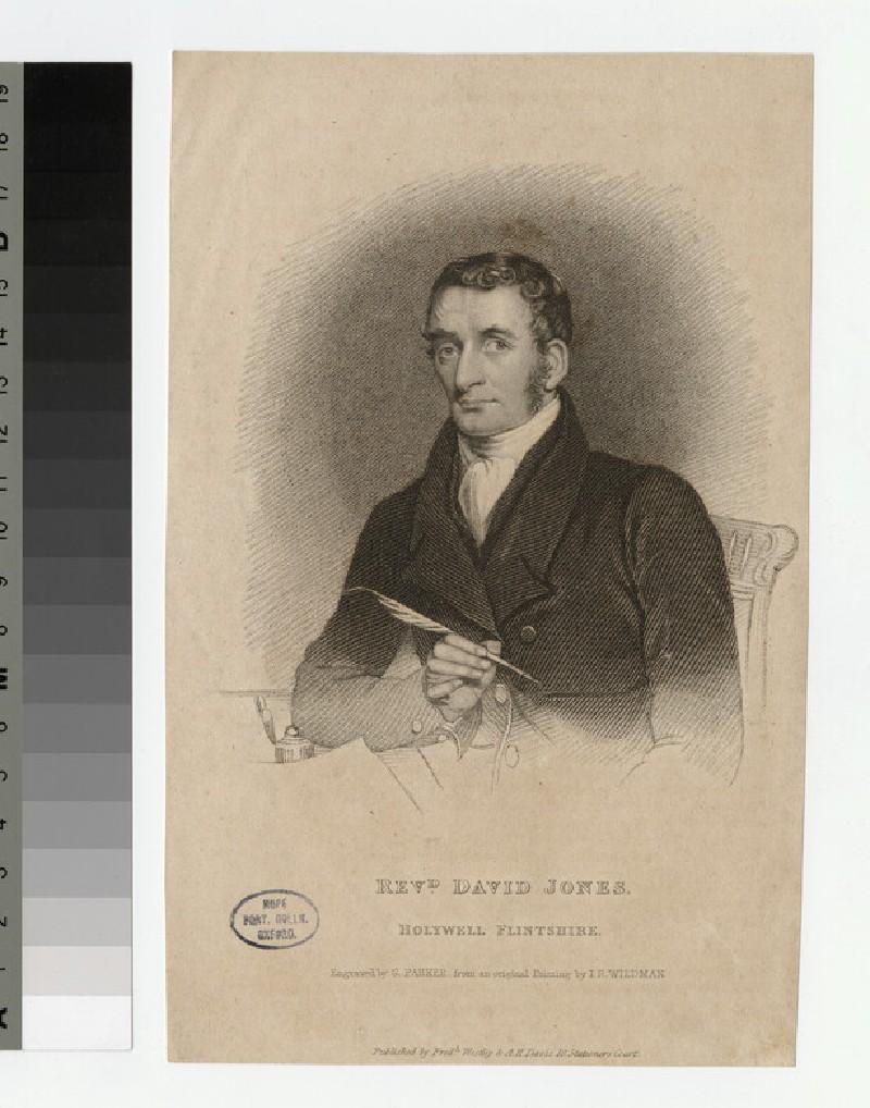 Portrait of D. Jones