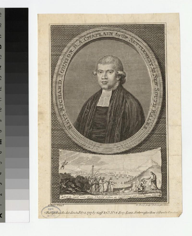 Portrait of Revd Richard Johnson (WAHP23142.1)