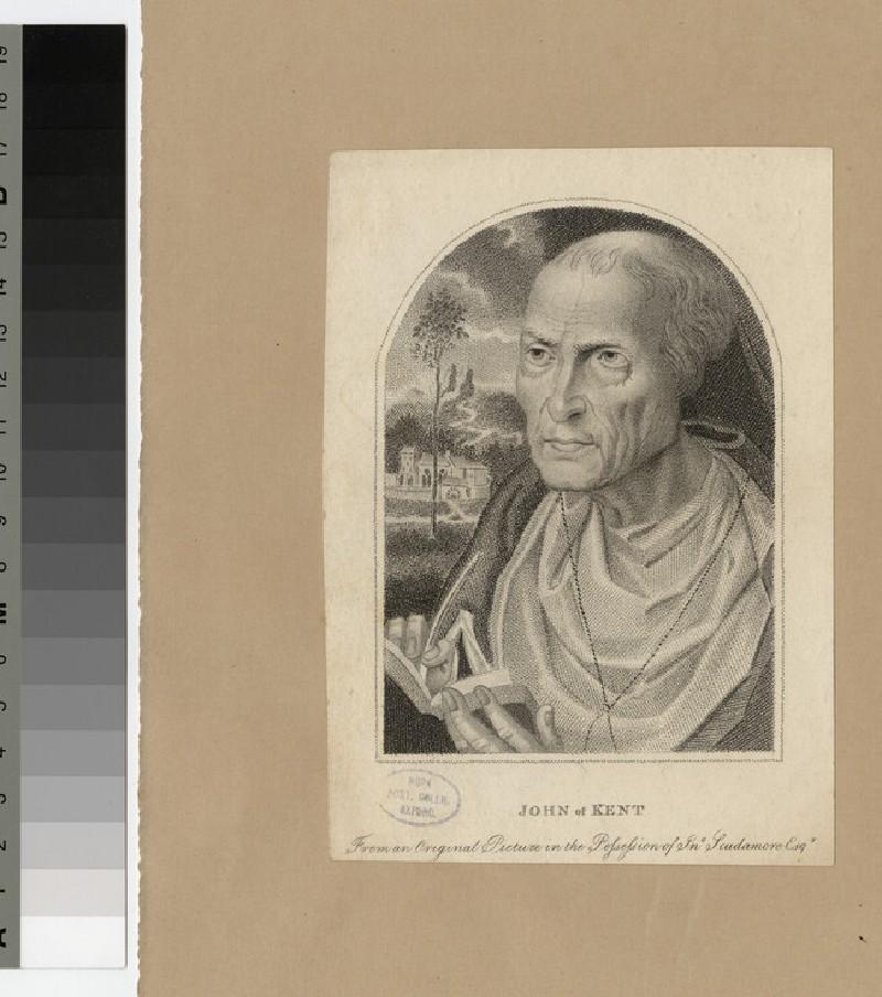 Portrait of John of Kent