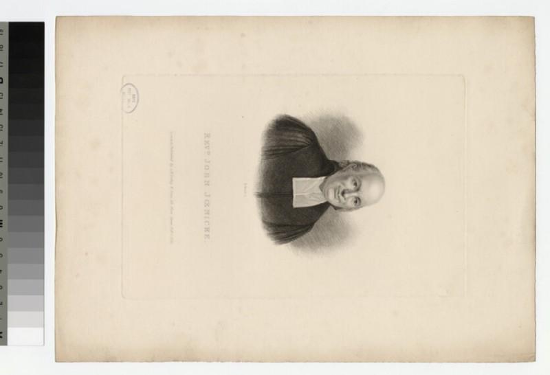 Portrait of J. Joenicke