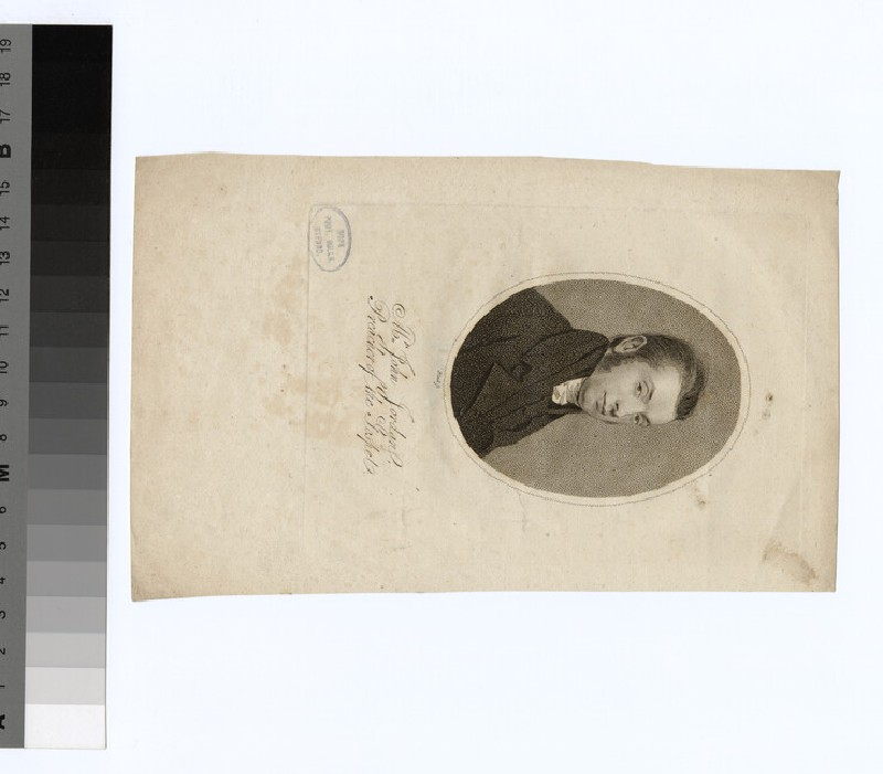 Portrait of J. Jordan (WAHP23164)