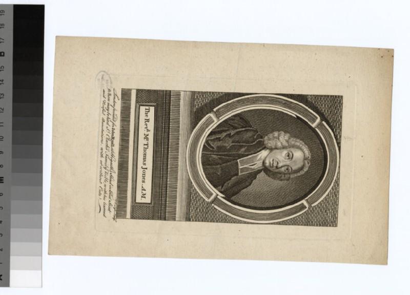 Portrait of Revd T. Jones