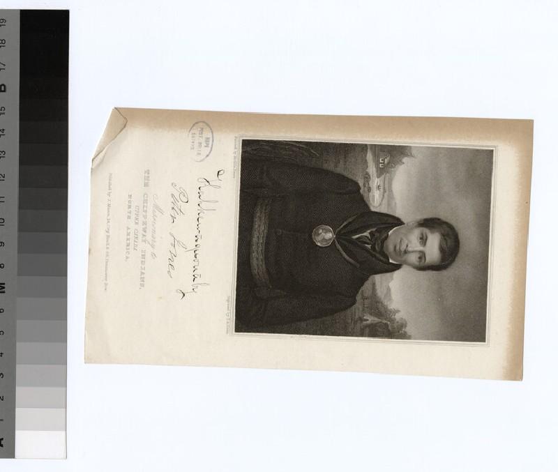 Portrait of Revd Peter Jones (WAHP23182)