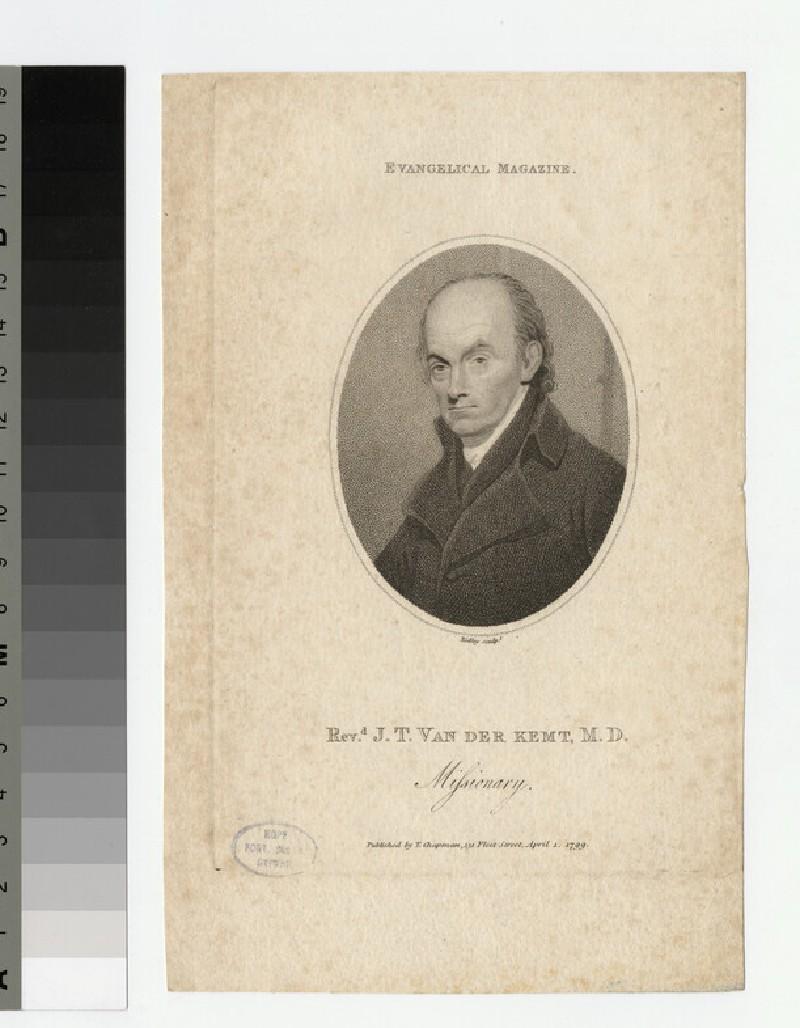 Portrait of J. T. Van der Kemt