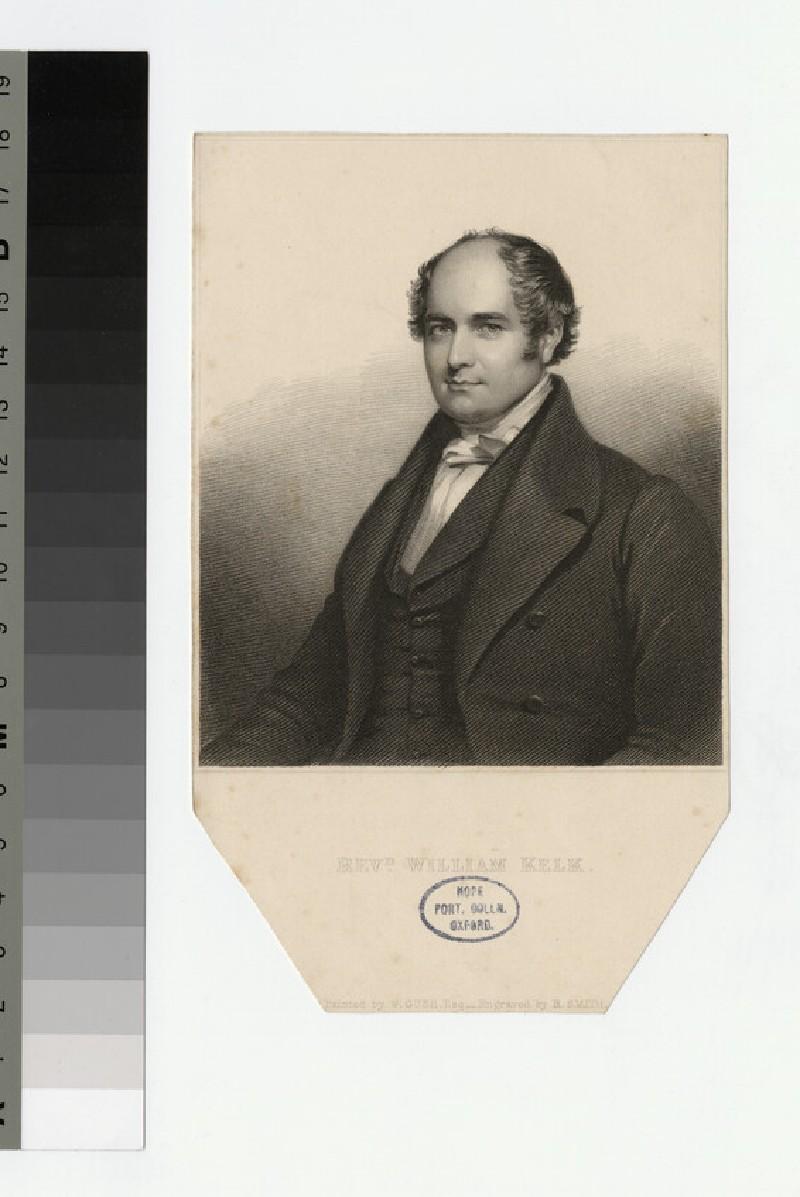 Portrait of W. Kelk