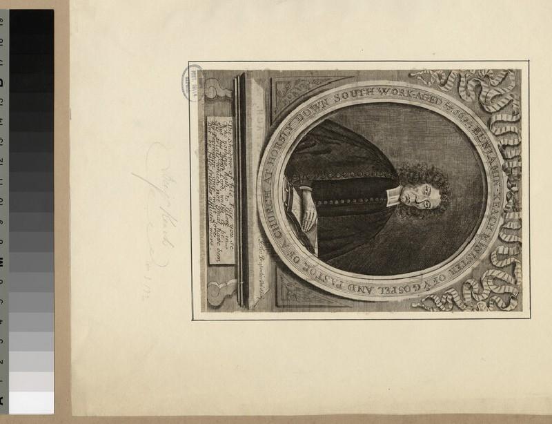 Portrait of B. Keach (WAHP23223)