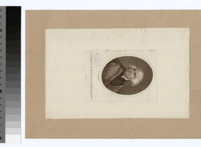 Portrait of A. Kippis (WAHP23236)