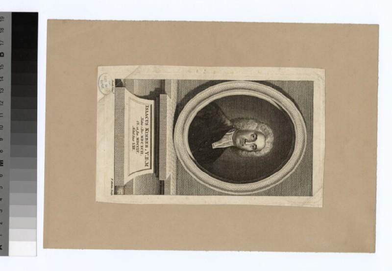 Portrait of Isaac Kimber