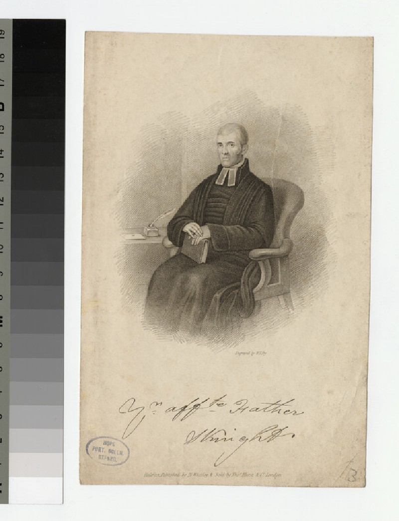 Portrait of S. Knight