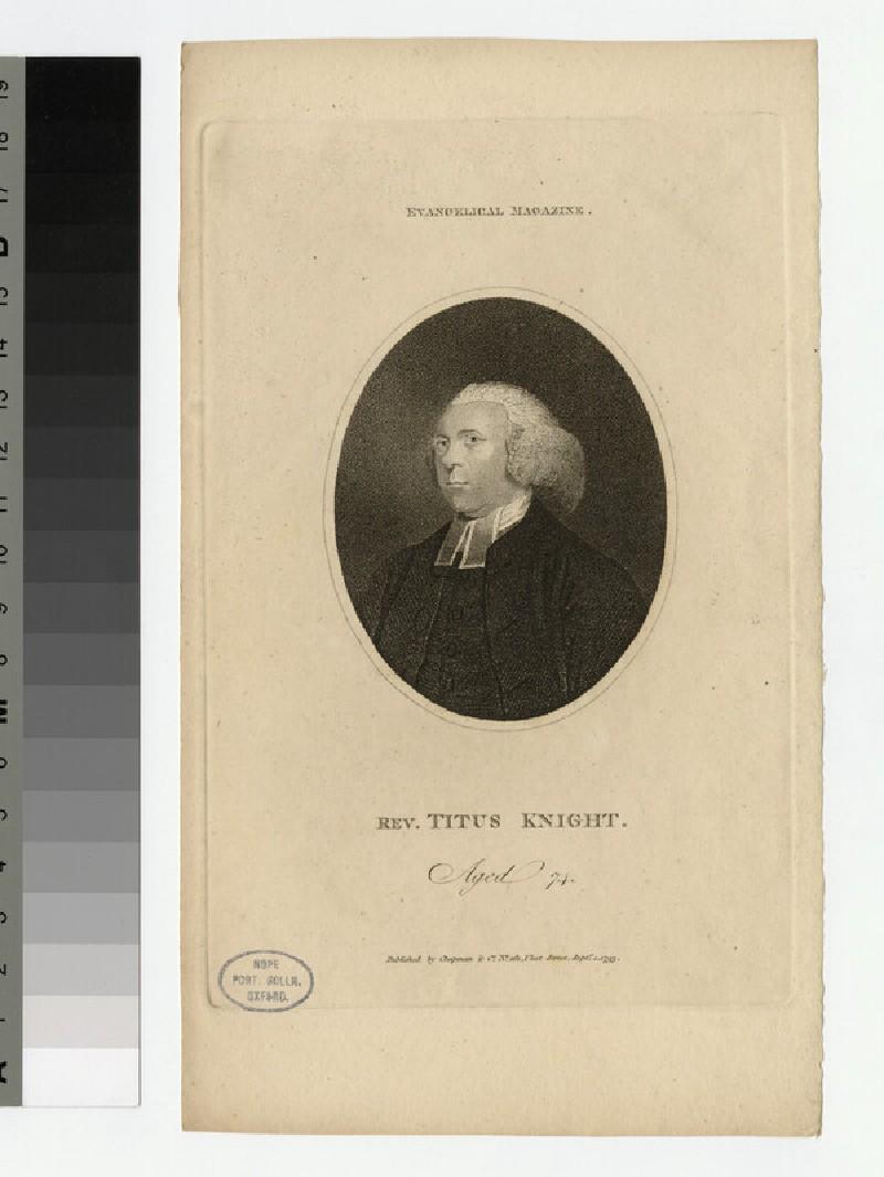 Portrait of T. Knight