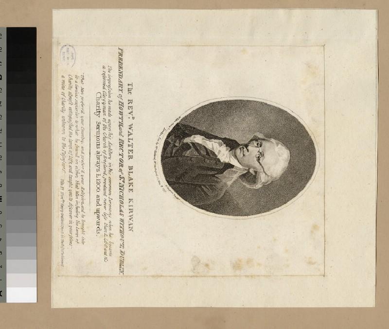 Portrait of W. B. Kirwan