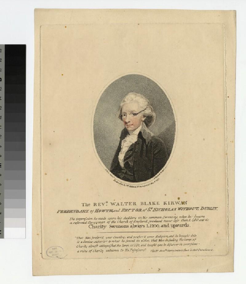 Portrait of W. B. Kirwan (WAHP23279.3)