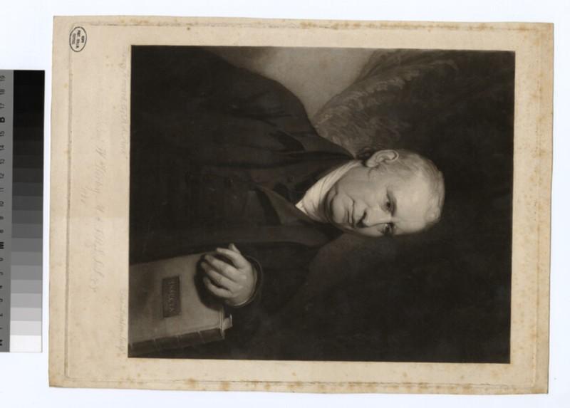 Portrait of Revd W. Kirby