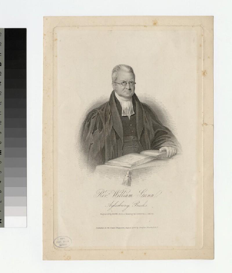 Portrait of W. Gunn