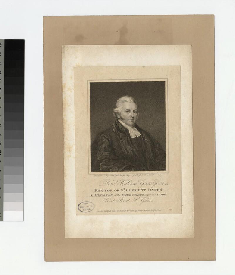 Portrait of Revd W. Gurney (WAHP23303)