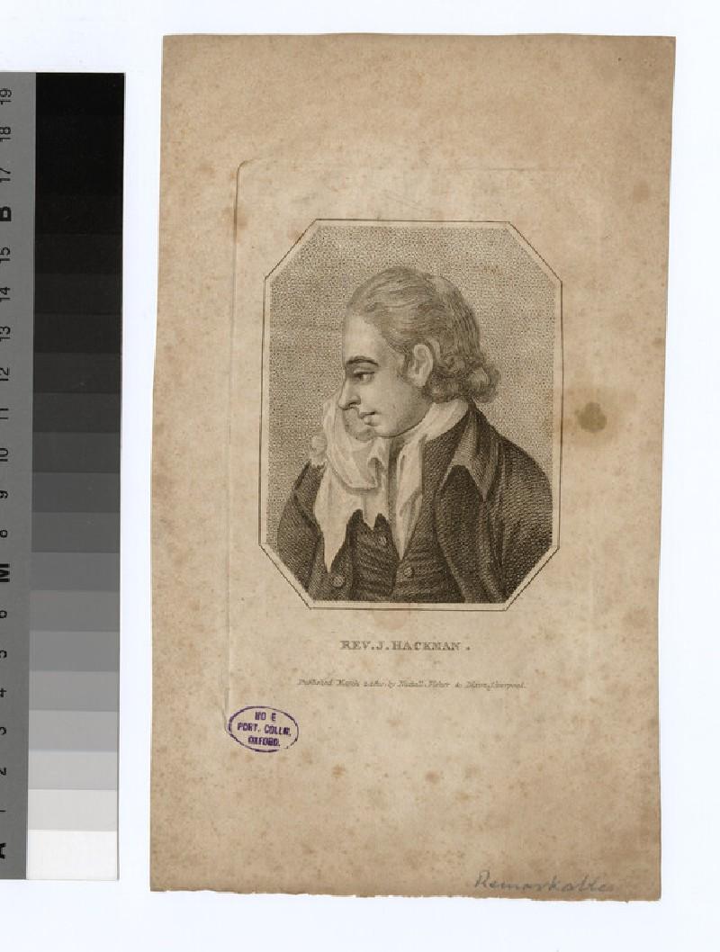Portrait of J. Hackman (WAHP23316)