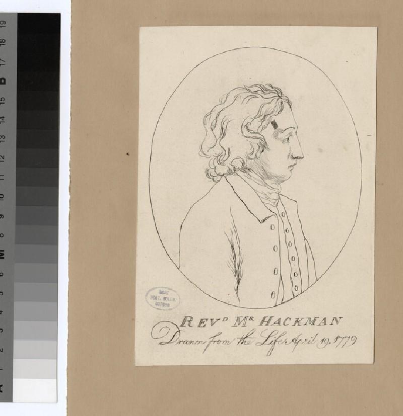 Portrait of J. Hackman