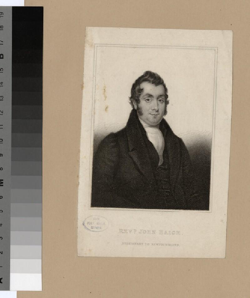 Portrait of J. Haigh (WAHP23322)