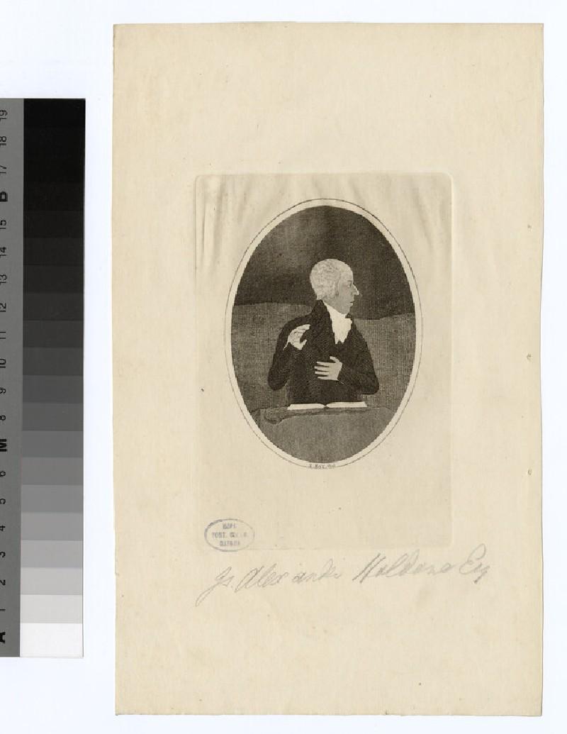 Portrait of J. A. Haldane