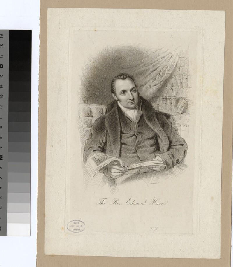 Portrait of E. Hare