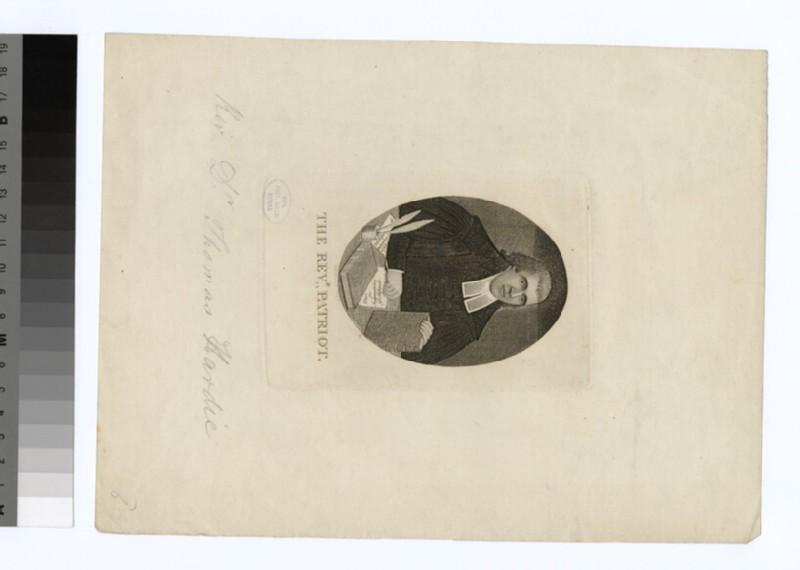 Portrait of T. Hardie