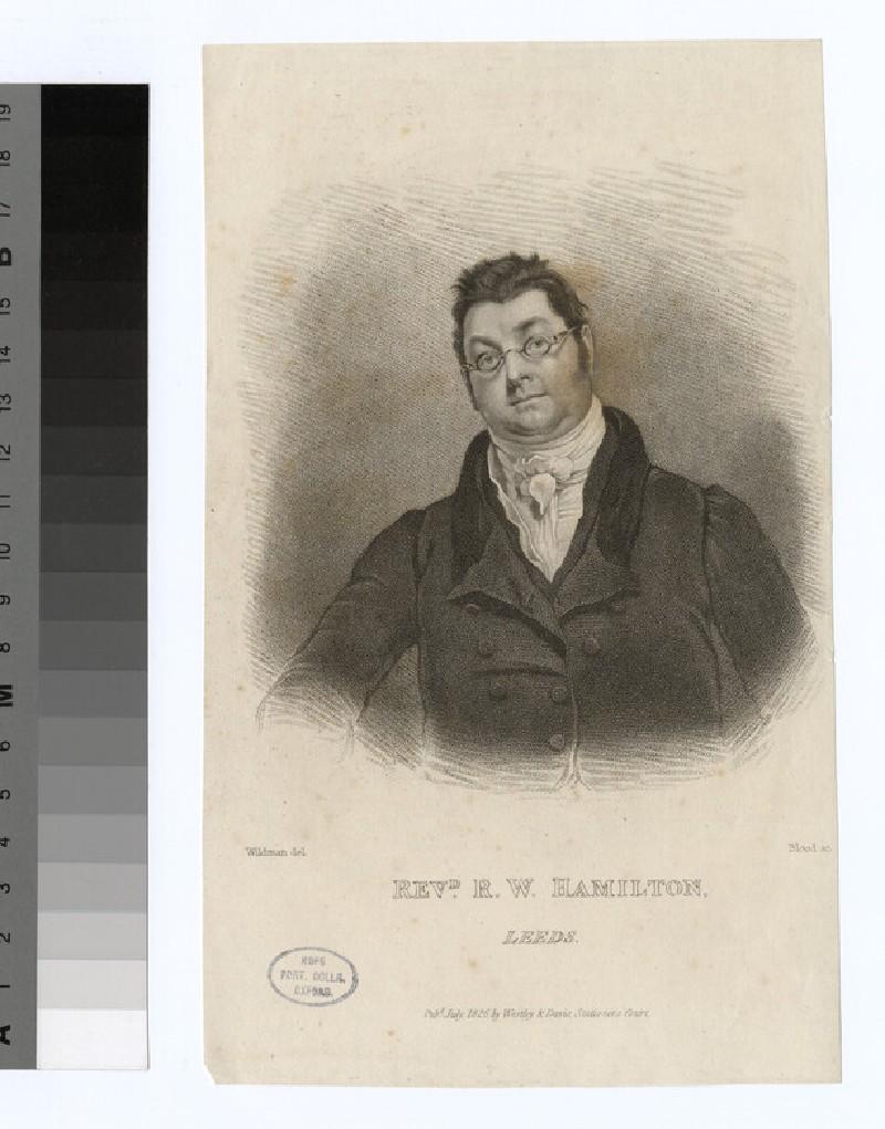 Portrait of R. W. Hamilton