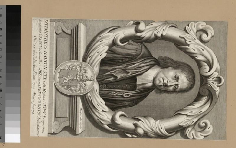 Portrait of Revd Dr T. Halton