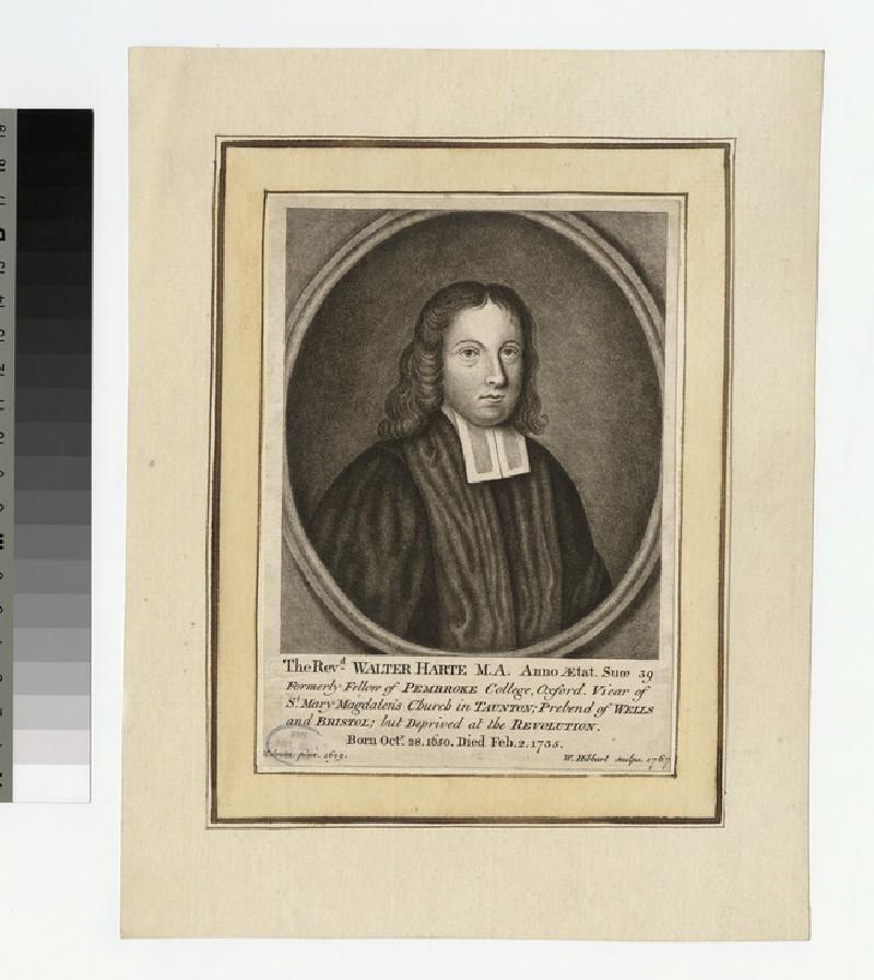 Portrait of Revd W. Harte (WAHP23369)