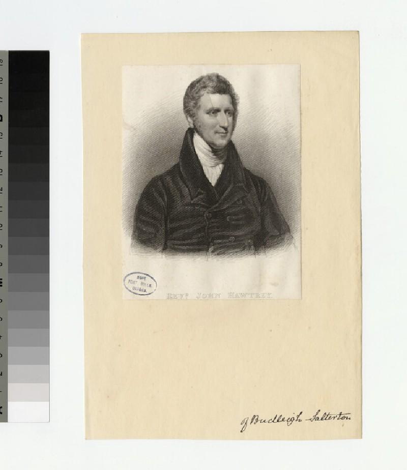 Portrait of J. Hawtrey