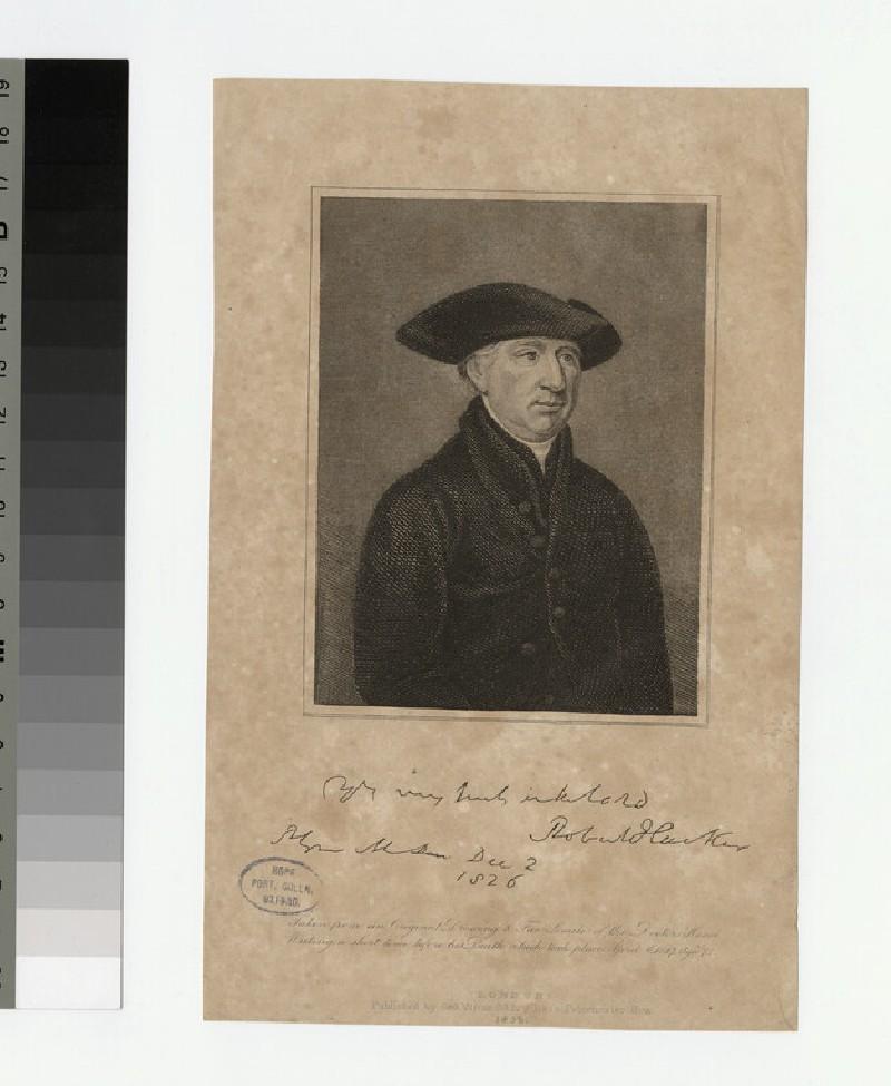 Portrait of R. Hacker (WAHP23381)