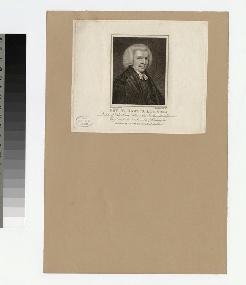 Portrait of Revd Thomas Haweis