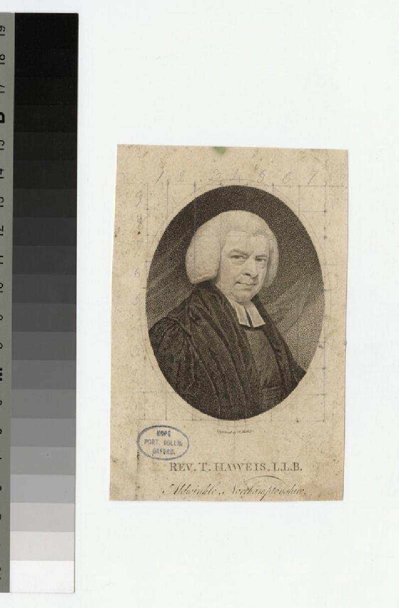 Portrait of T. Haweis