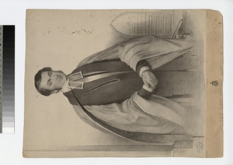 Portrait of Revd T. Harvey