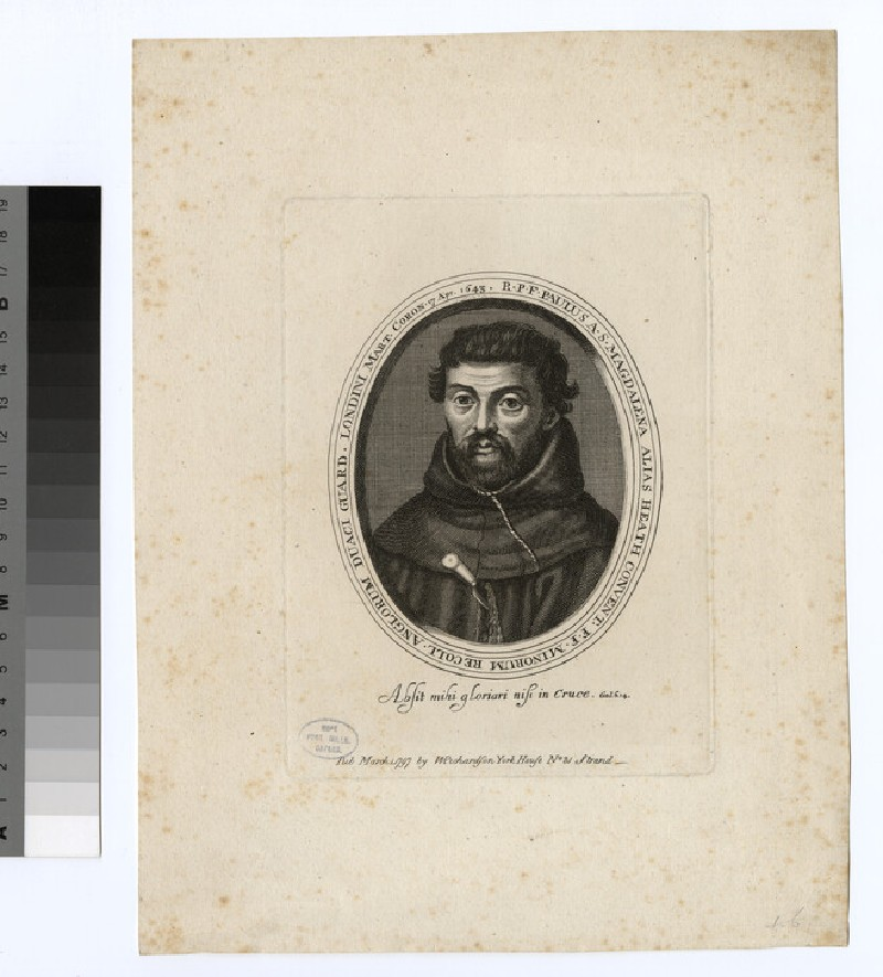 Portrait of P. Heath