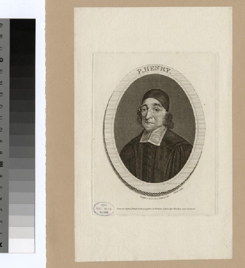 Portrait of P. Henry