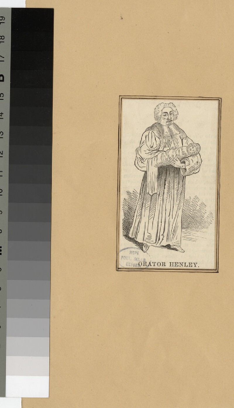Portrait of 'Orator' Henley