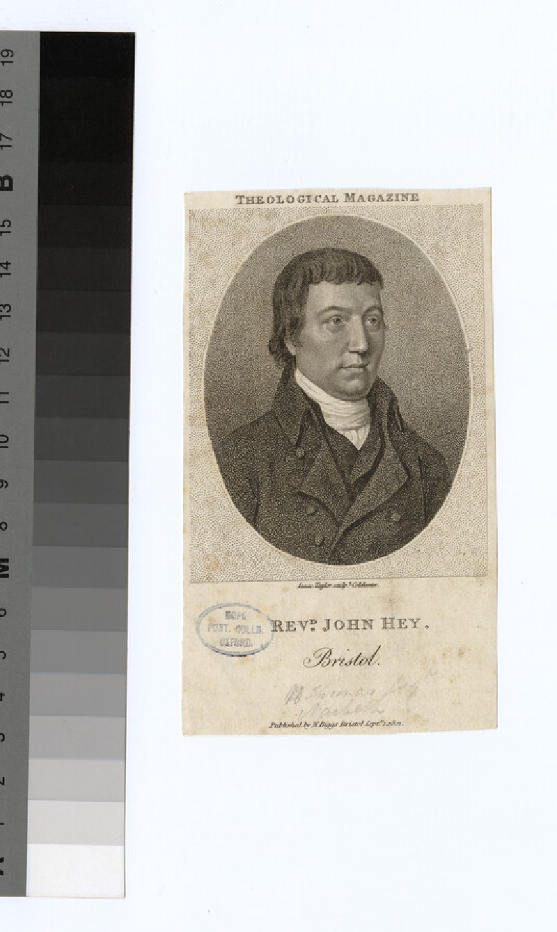Portrait of J. Hey
