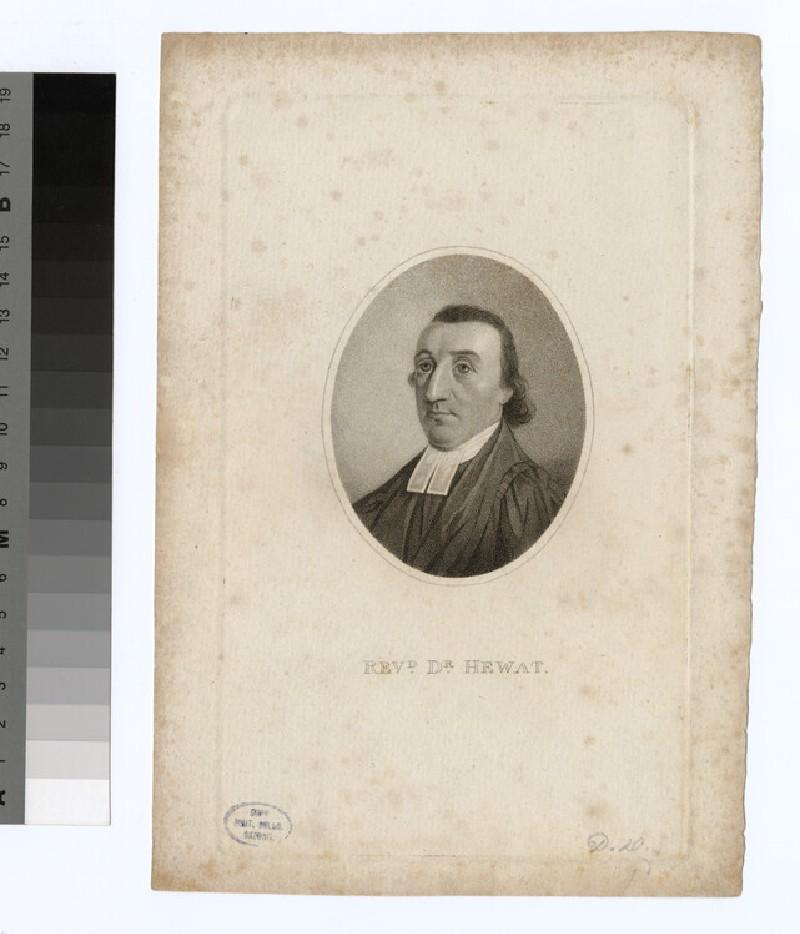 Portrait of Hewat (WAHP23500)