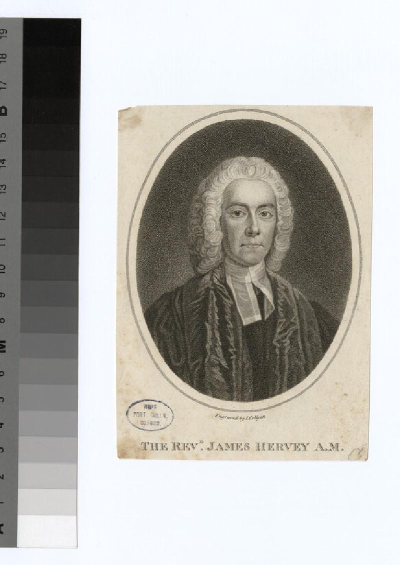 Portrait of Revd J. Hervey