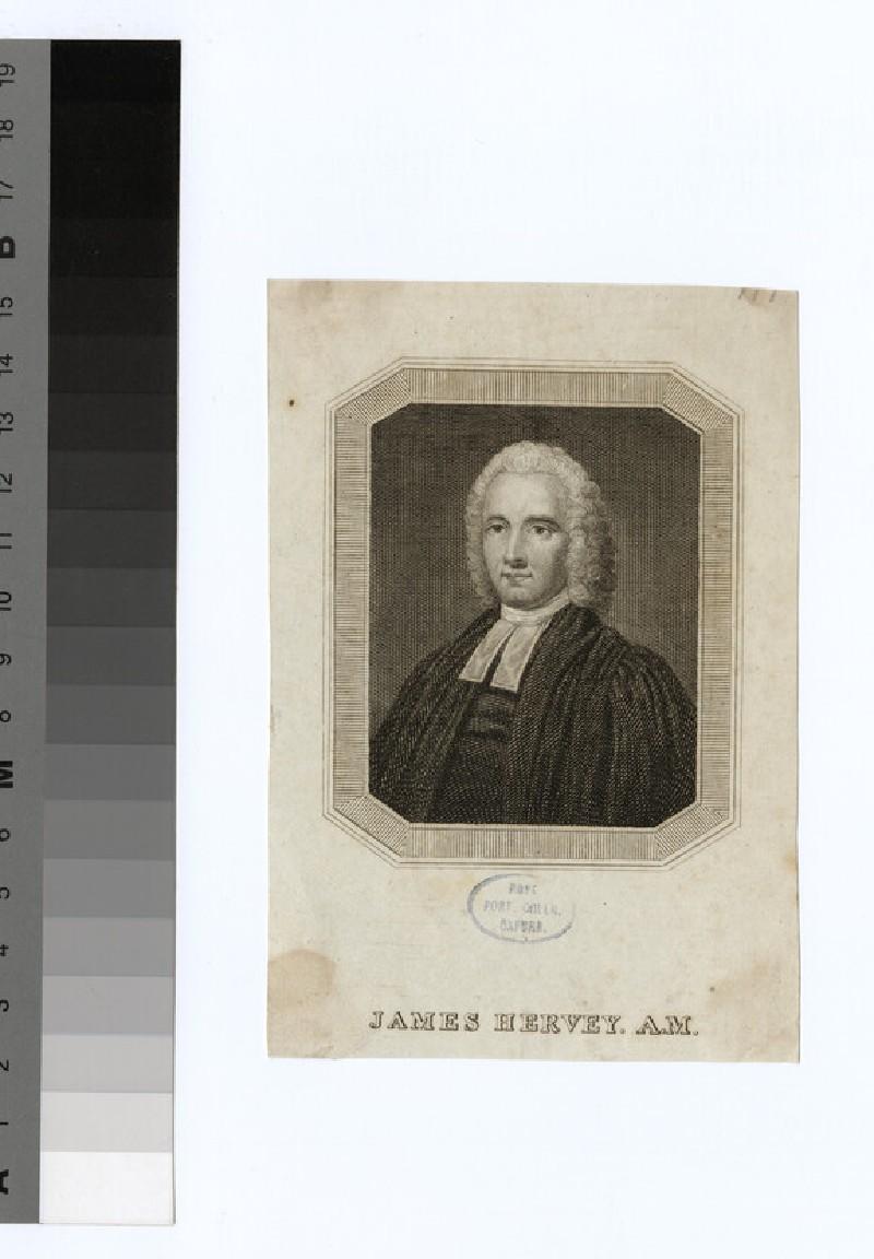 Portrait of Revd J. Hervey (WAHP23519)