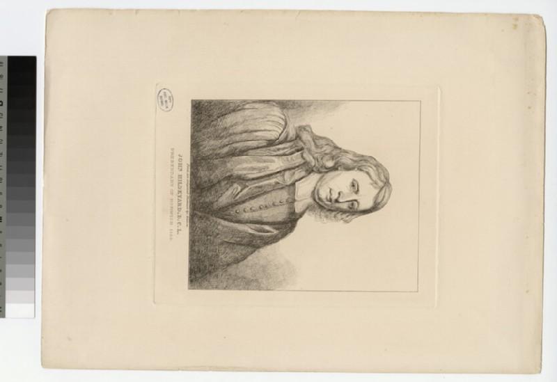 Portrait of Revd Dr J. Hildeyard (WAHP23550)