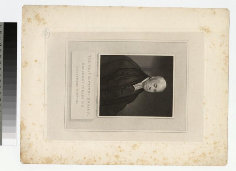 Portrait of Revd S. Hodson (WAHP23616)
