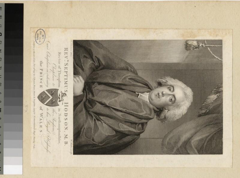 Portrait of Revd S. Hodson (WAHP23617)