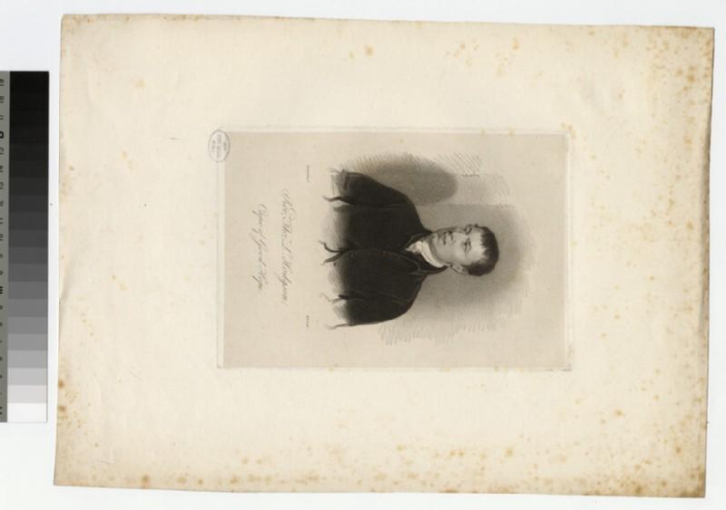 Portrait of T. L. Hodgson (WAHP23619)