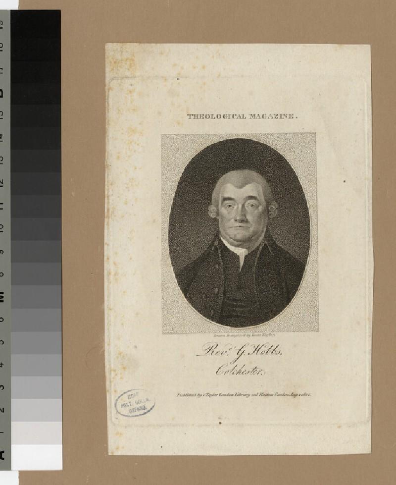 Portrait of G. Hobbs