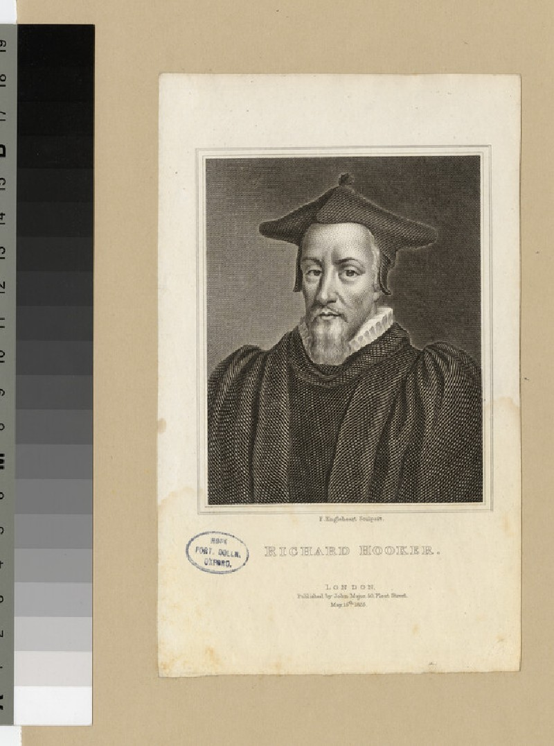 Portrait of Revd Dr R. Hooker (WAHP23628)